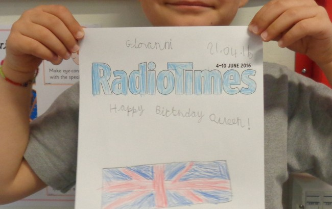 Form 2 celebrate the Queen's Birthday