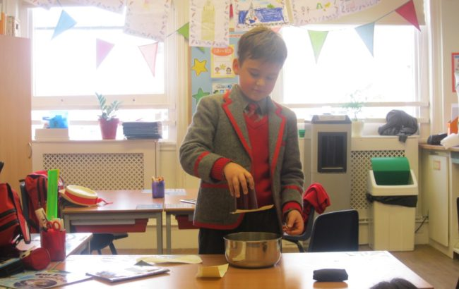 Form 3's science experiments