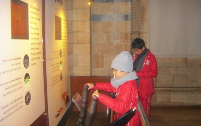Form 6 trip to the Natural History Museum- Dinosaur hunting