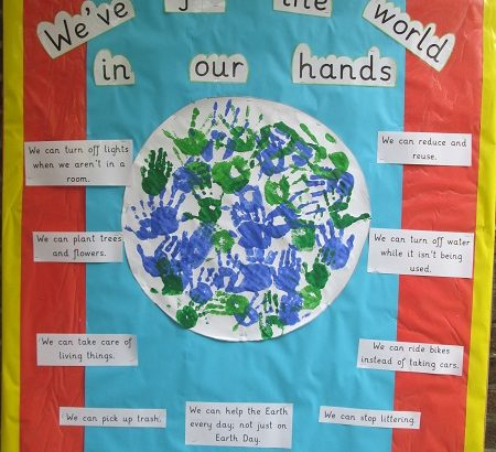 Pre Prep celebrate Earth Day