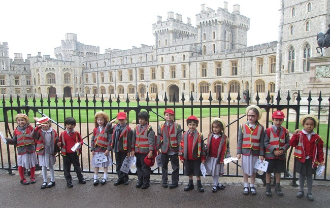 Form 1 visit Windsor Castle