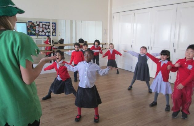 Lower school Drama workshop