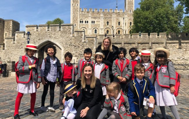 Form 1 trip to The Tower Of London