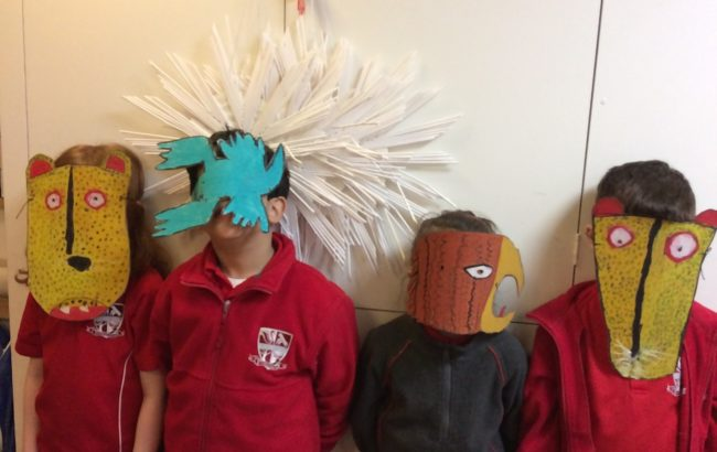 Form 2 Mexican Masks