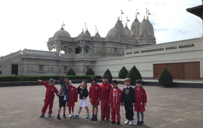 Form 1 trip to Neasden Temple
