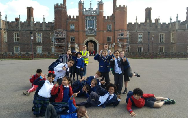 Form 4 Trip to Hampton Court