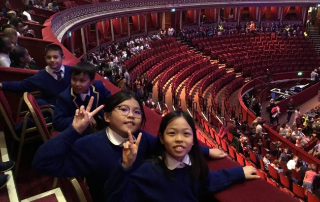 Primary Prom at the Royal Albert Hall